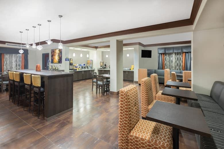 Days Inn Dilley Hotel Lobby In Texas