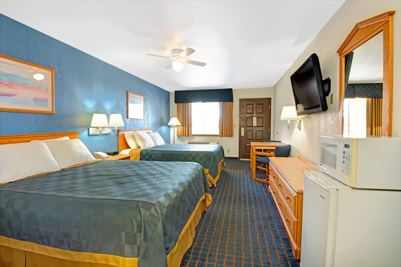 Guest room at the Days Inn El Paso West in El Paso, Texas