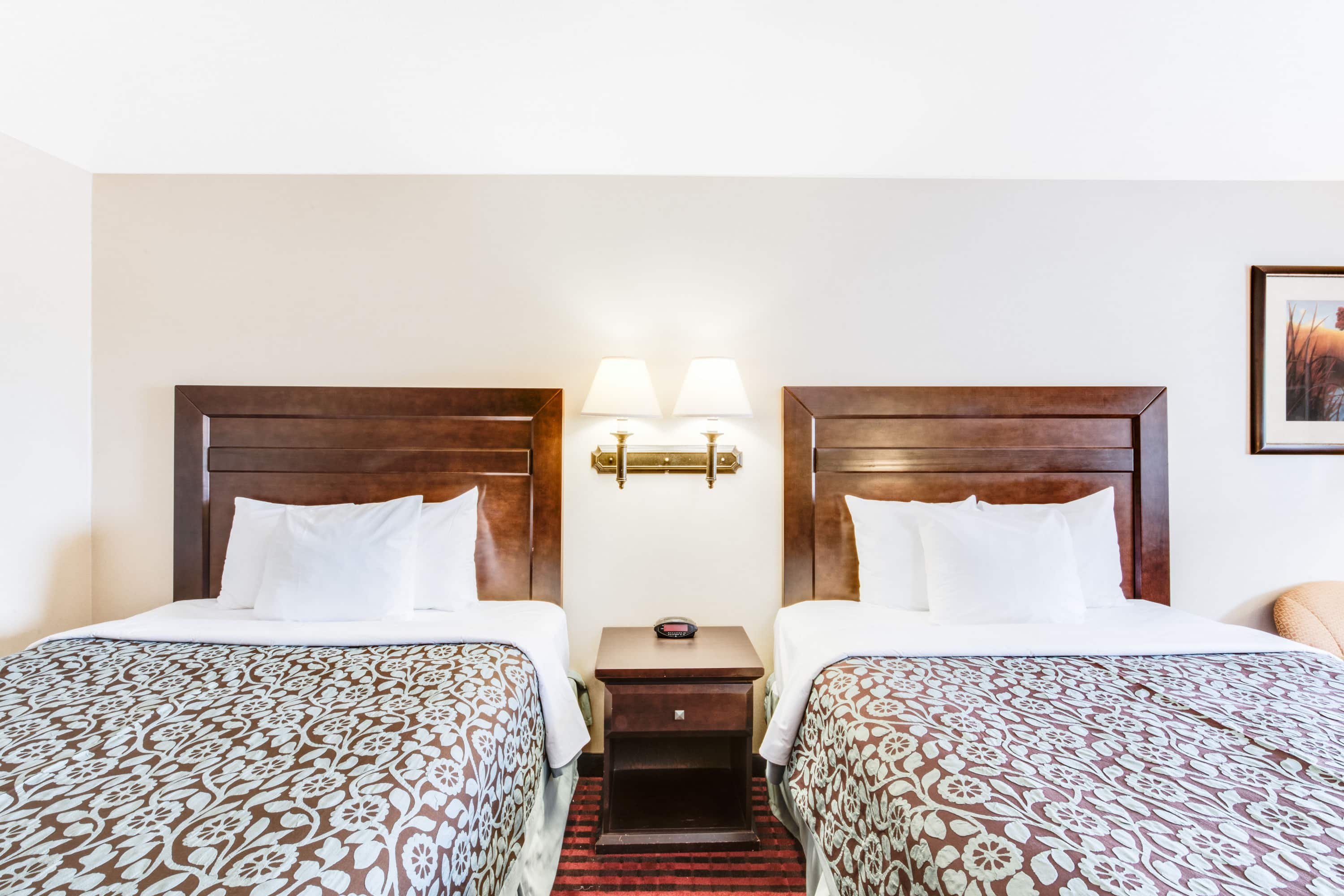Guest room at the Days Inn Fort Stockton in Fort Stockton, Texas