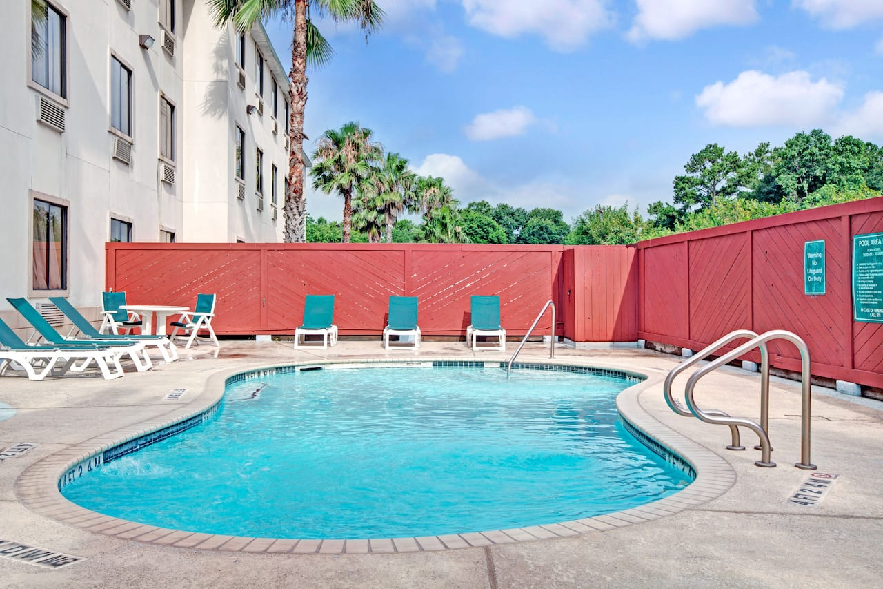 at the Days Inn And Suites Houston North/Aldine in Houston, Texas