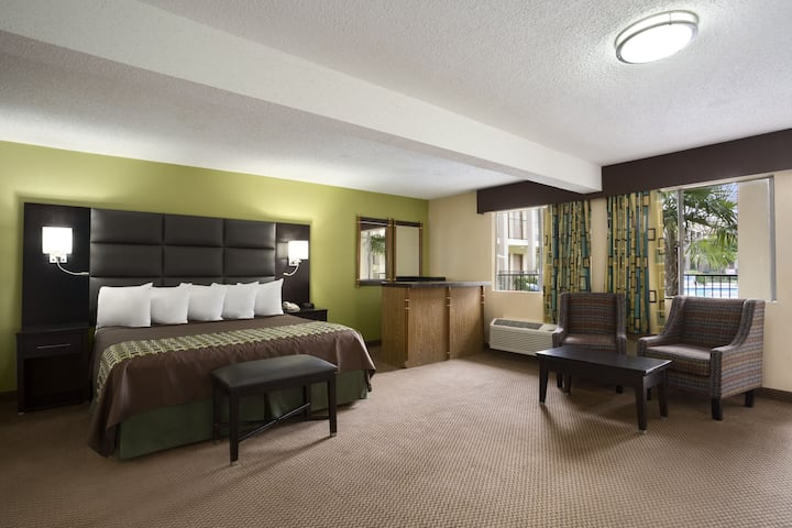 Days Inn by Wyndham Dallas Irving Market Center suite in Irving, Texas