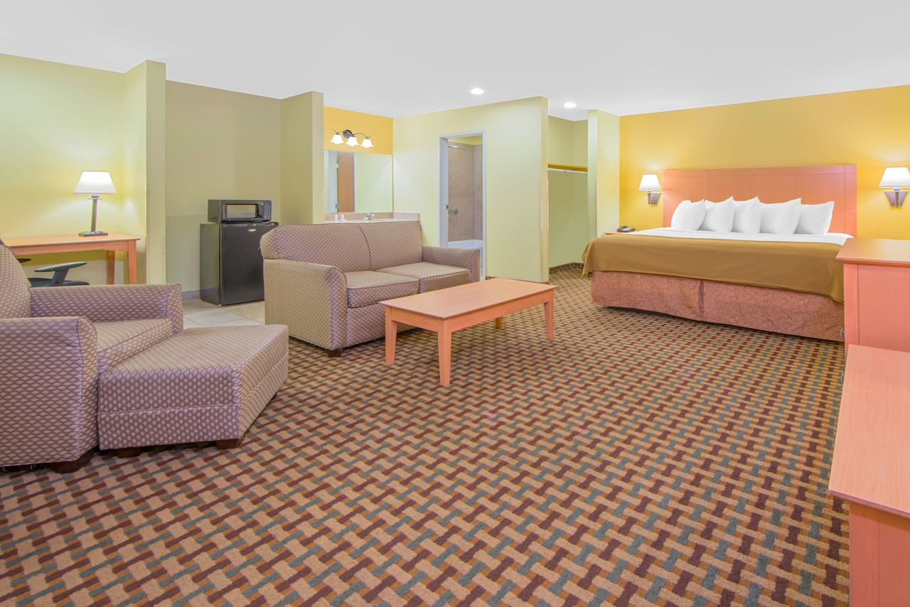 at the Days Inn Lubbock South in Lubbock, Texas