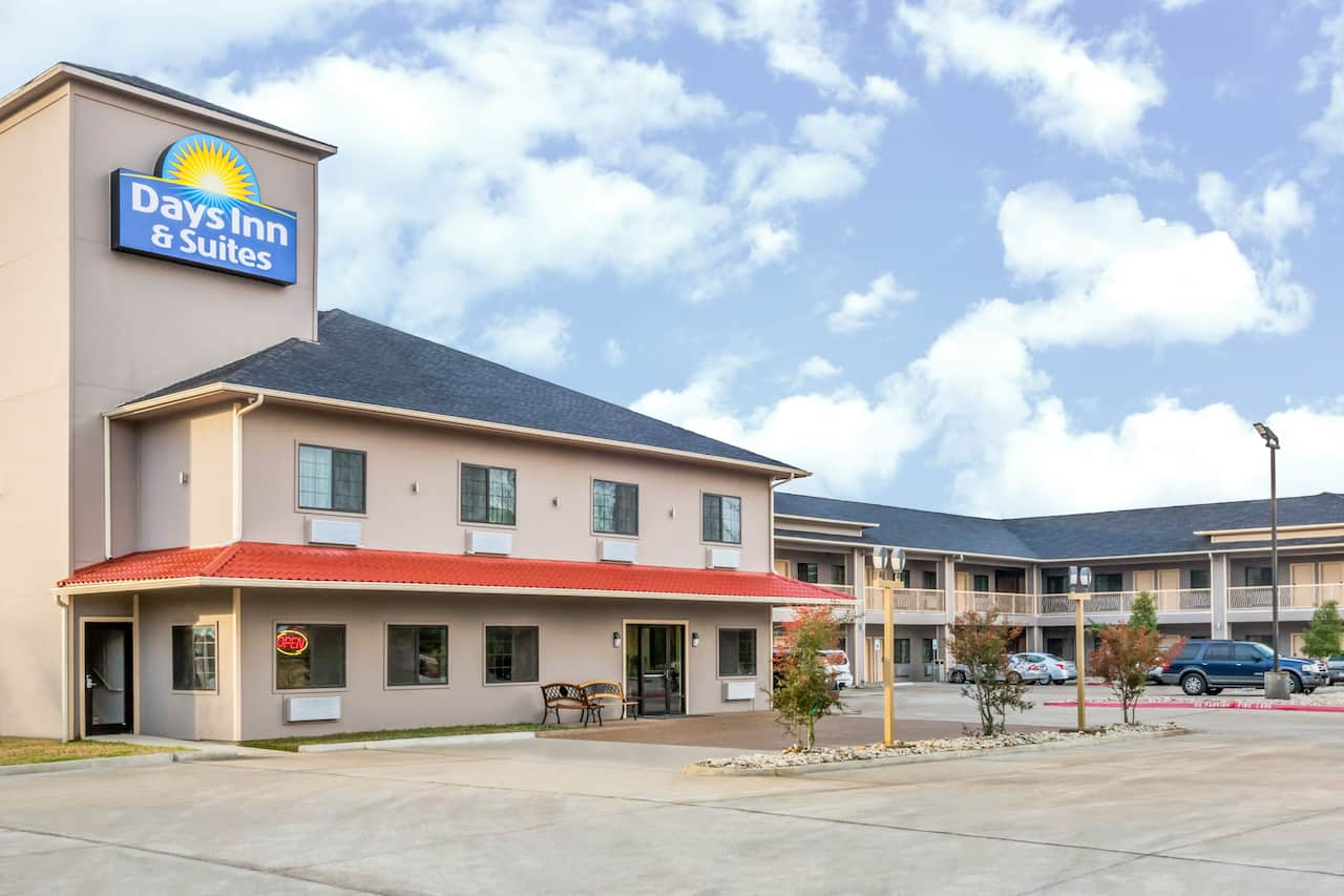 at the Days Inn & Suites Madisonville in Madisonville, Texas