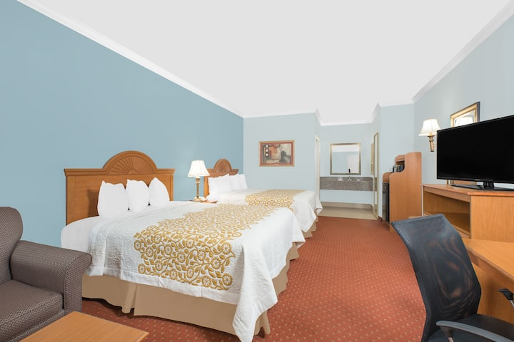 Guest room at the Days Inn Robstown in Robstown, Texas