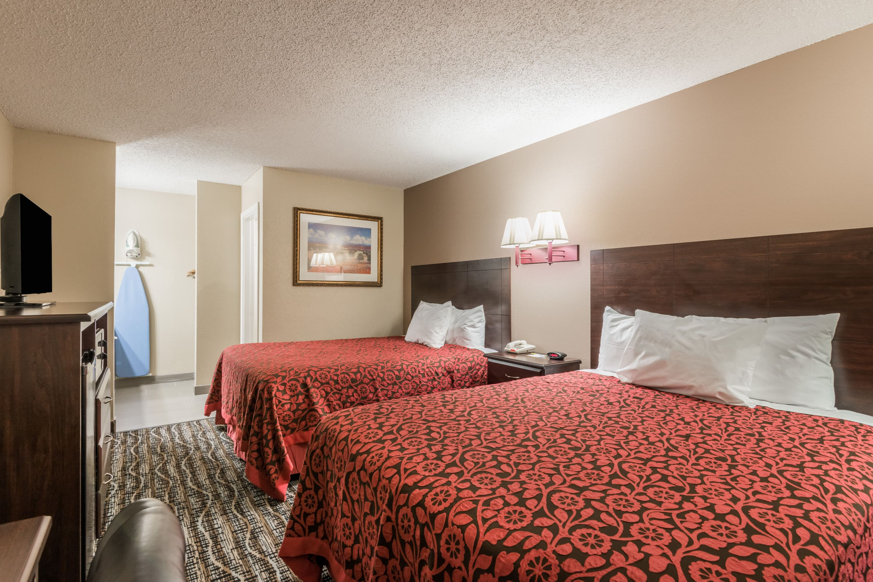 Guest room at the Days Inn - San Marcos in San Marcos, Texas