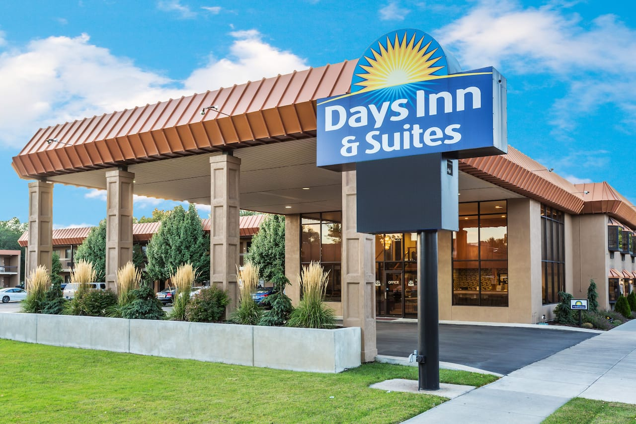 at the Days Inn & Suites Logan in Logan, Utah