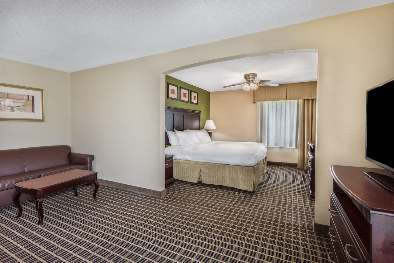 at the Days Inn & Suites South Boston in South Boston, Virginia