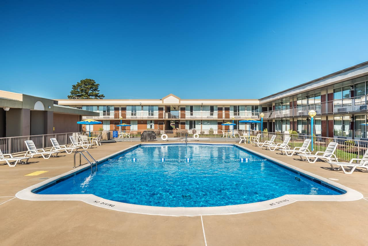 at the Days Inn South Hill in South Hill, Virginia