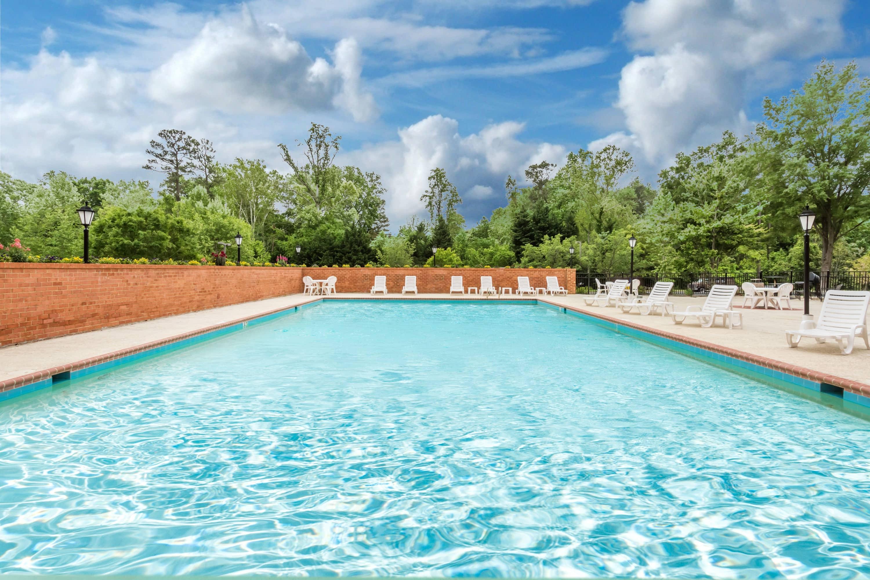 Pool At The Days Inn Williamsburg Historic Area In Williamsburg, Virginia