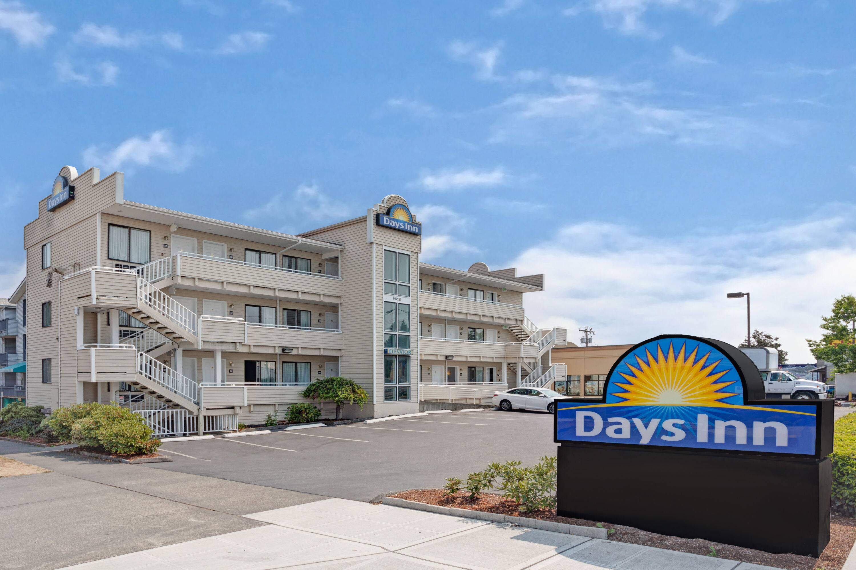 Exterior of Days Inn by Wyndham Seattle