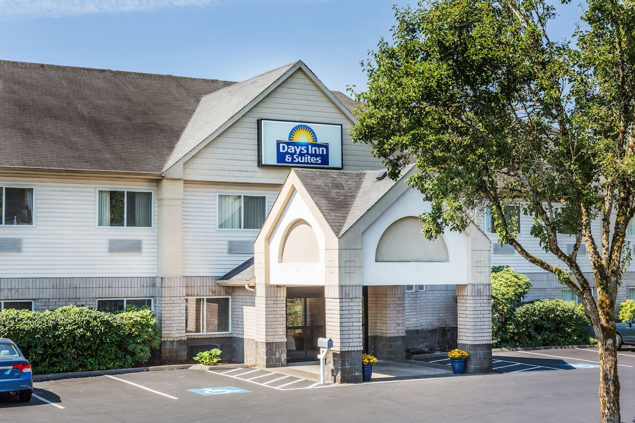 at the Days Inn & Suites Vancouver in Vancouver, Washington
