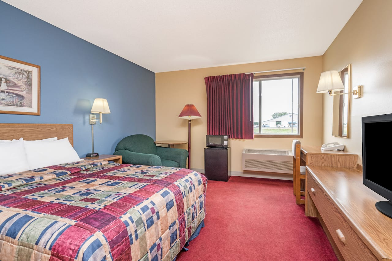 at the Days Inn West-Eau Claire in Eau Claire, Wisconsin