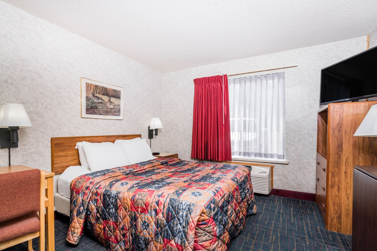 at the Days Inn Hurley in Hurley, Wisconsin