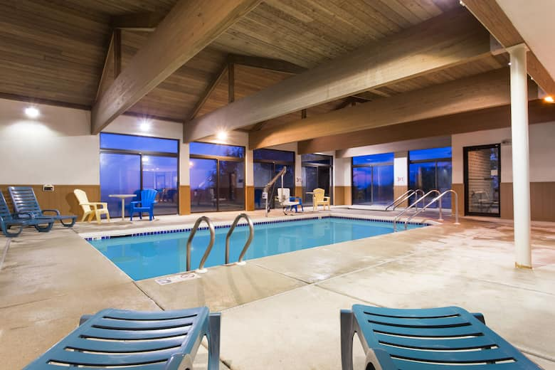 Pool At The Days Inn Johnson Creek In Wisconsin