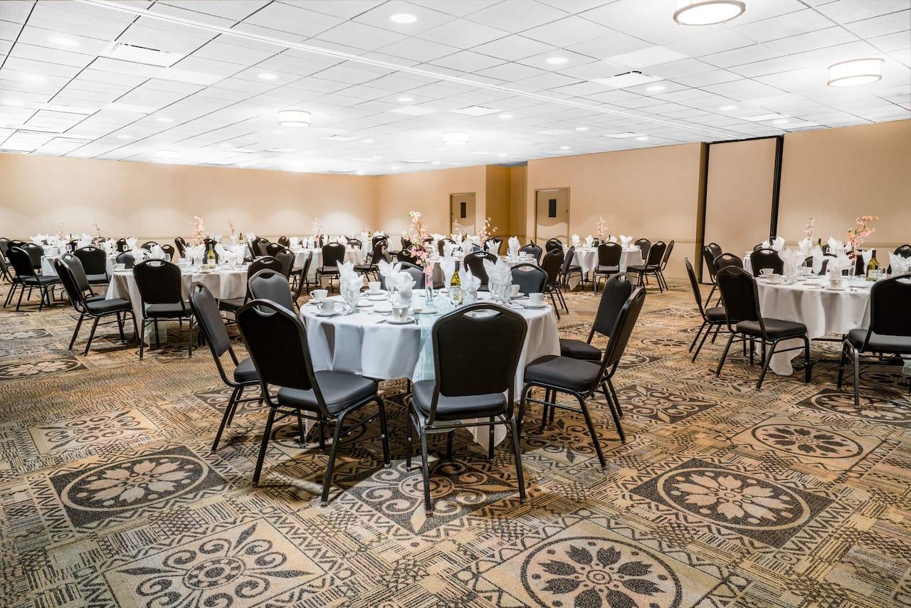 at the Days Inn La Crosse Conference Center in La Crosse, Wisconsin