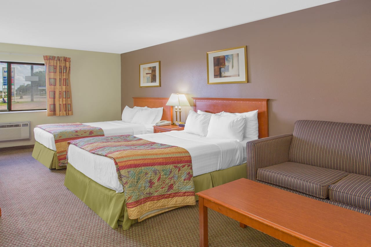 at the Days Inn Portage in Portage, Wisconsin