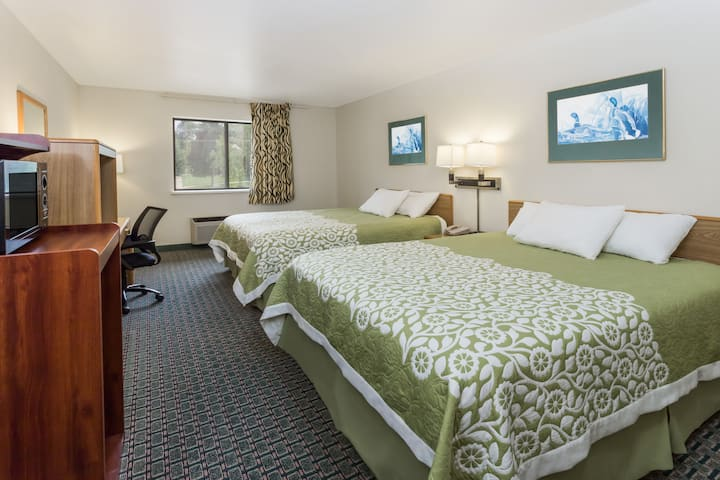 Guest room at the Days Inn Stoughton WI. in Stoughton, Wisconsin