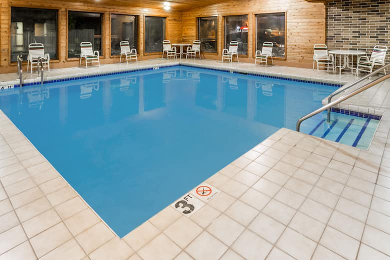 Pool At The Days Inn Stoughton Wi In Wisconsin