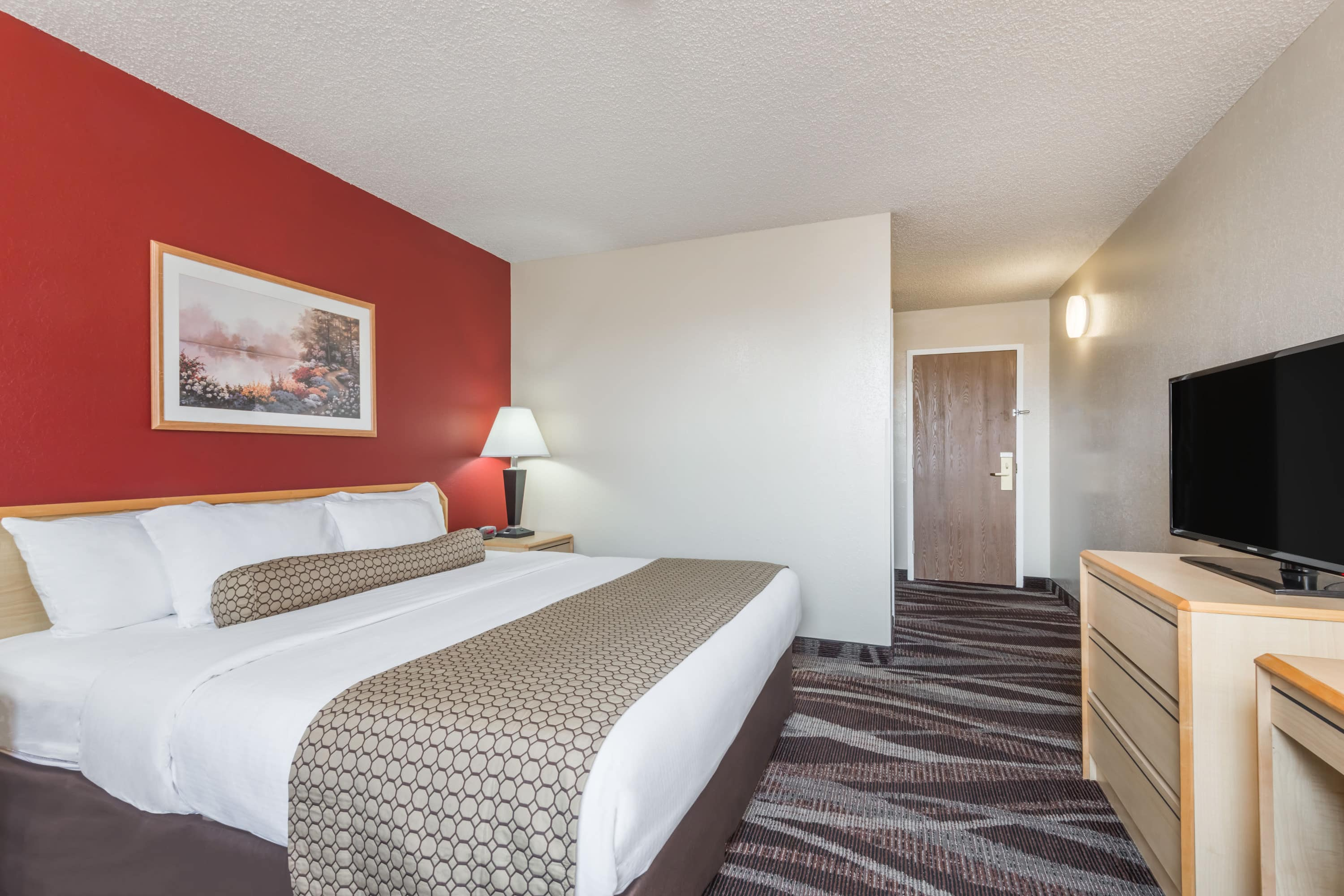 Guest room at the Days Inn Gillette in Gillette, Wyoming