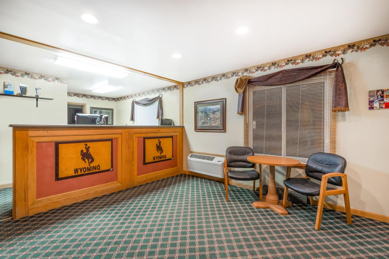 at the Days Inn Worland in Worland, Wyoming
