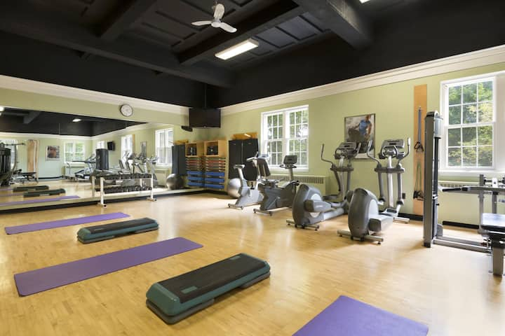 Health club at Ivey Spencer Leadership Center in London, Ontario