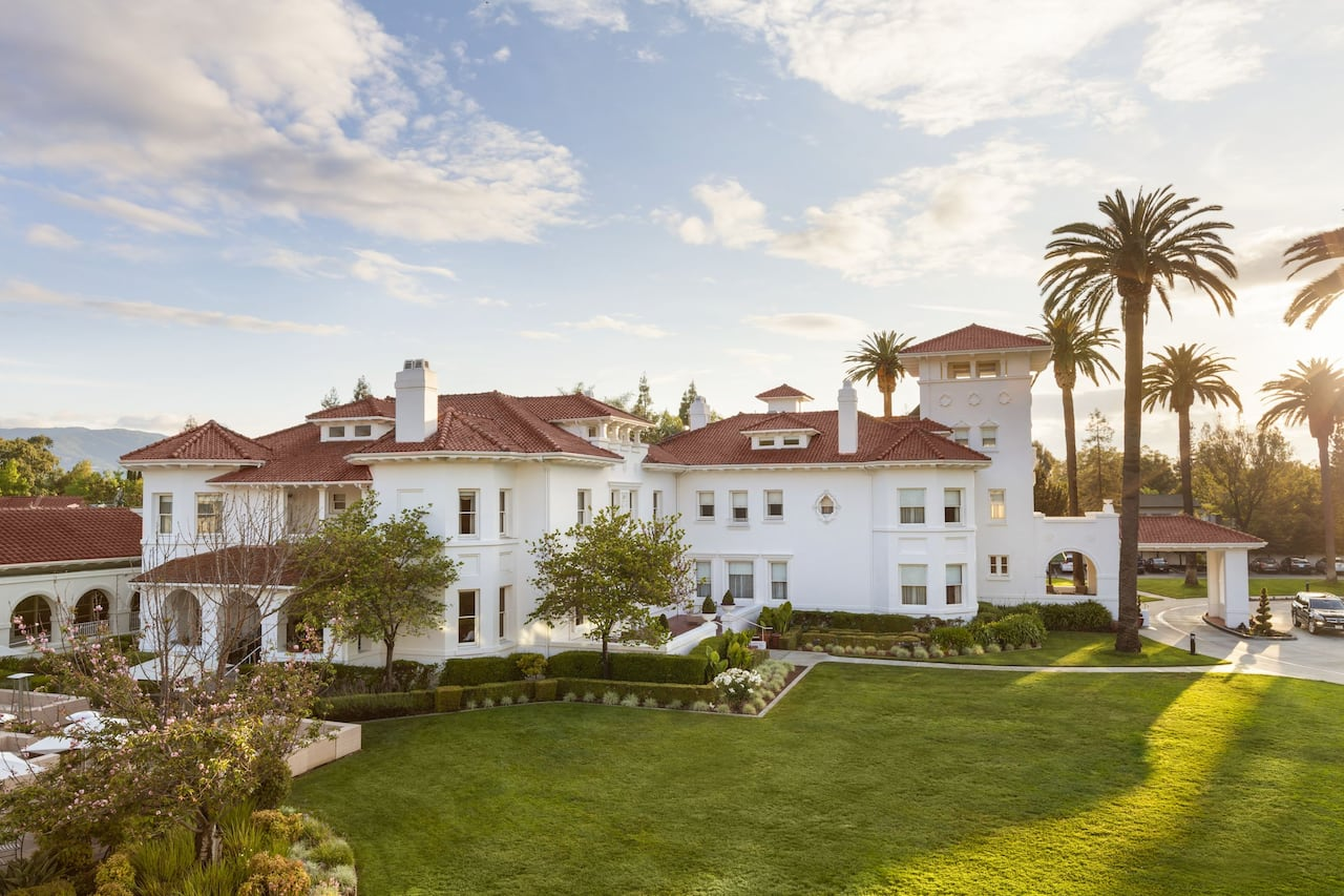Dolce Hayes Mansion in Santa Cruz, California