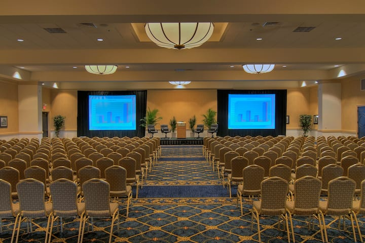 Meeting room at Stockton Seaview Hotel & Golf Club in Galloway, New Jersey