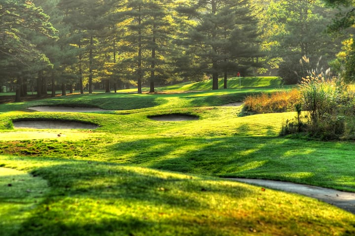 Golf course at Stockton Seaview Hotel & Golf Club in Galloway, New Jersey