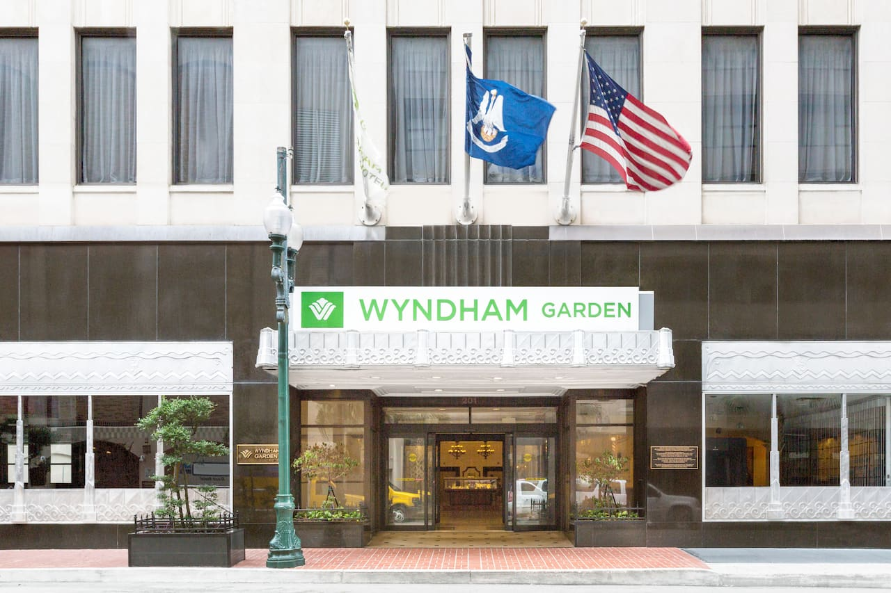 Wyndham Garden Baronne Plaza New Orleans near Maple Leaf Bar