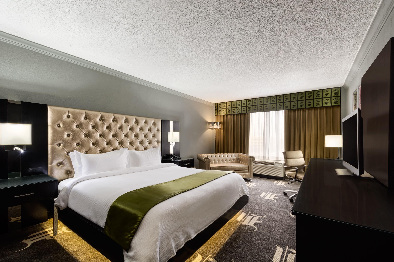 Guest Room At The Wyndham Garden Dallas North In Dallas, Texas