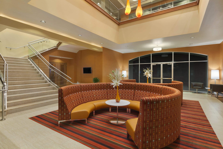Wyndham Garden San Antonio Riverwalk/Museum Reach Hotel Lobby In San Antonio,  Texas