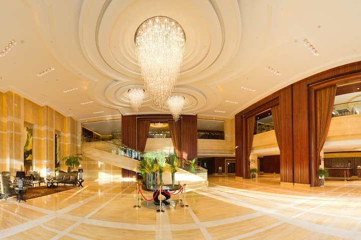 Wyndham Grand Plaza Royale Furongguo Changsha hotel lobby in Changsha, Other than US/Canada