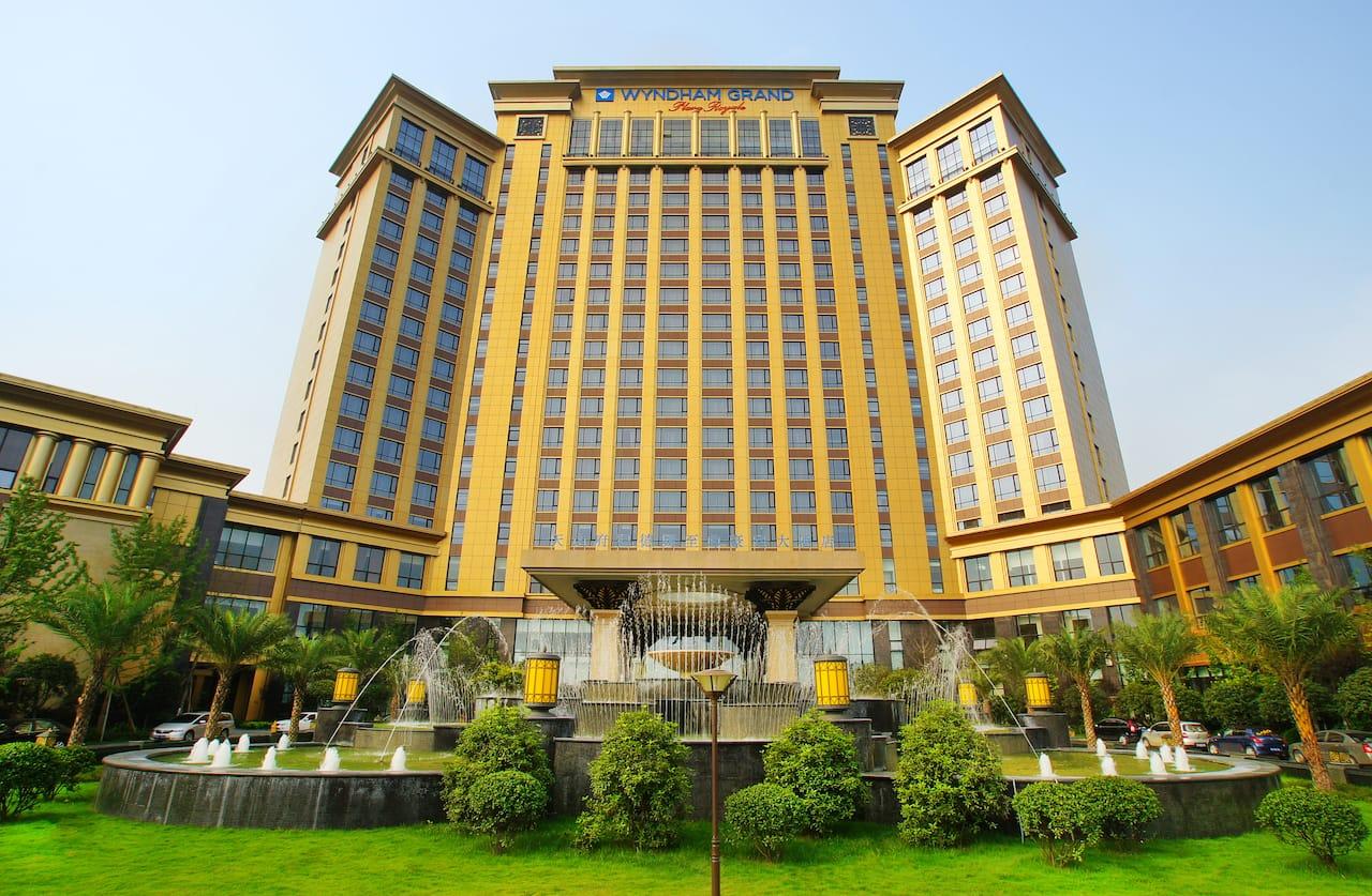 Wyndham Grand Plaza Royale Palace Chengdu in Chengdu, China