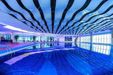 Pool at the Wyndham Grand Plaza Royale Chenzhou in Chenzhou, Other than US/Canada