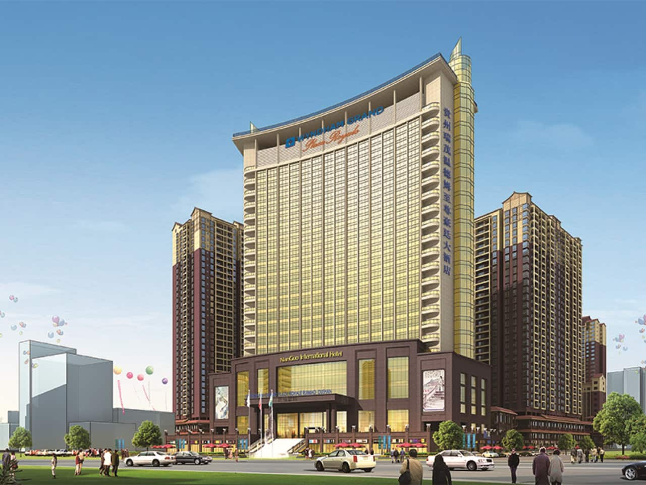 Wyndham Grand Plaza Royale Ruimao Guizhou in  Qiannan,  CHINA