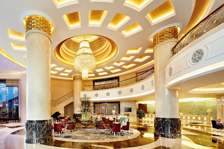 Wyndham Foshan Shunde hotel lobby in Foshan, Other than US/Canada