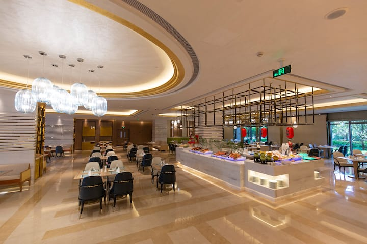 Wyndham Grand Plaza Royale Kaicheng Anji restaurant in Huzhou, Other than US/Canada