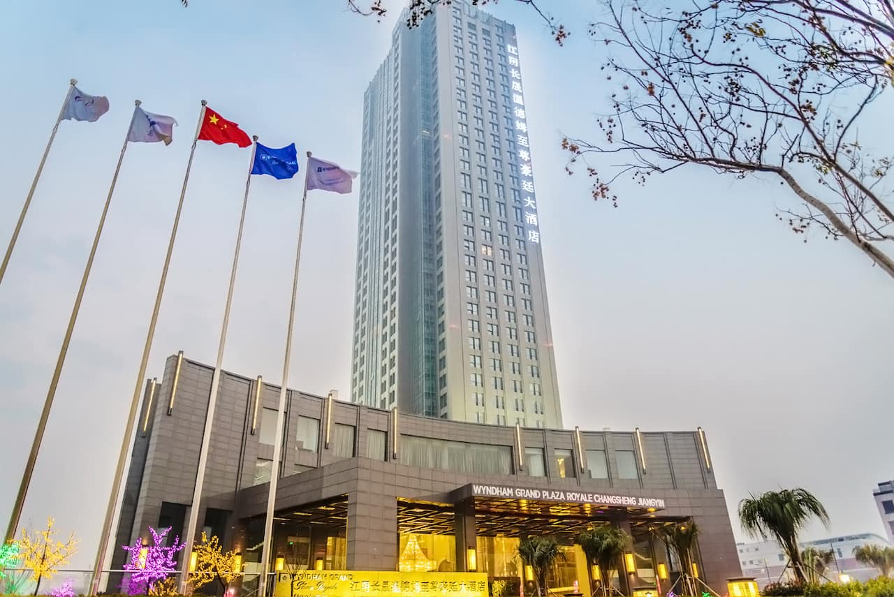 Wyndham Grand Plaza Royale Changsheng Jiangyin in  Jingjiang,  CHINA