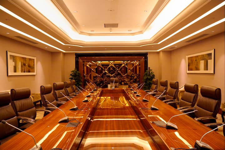 Meeting room at Wyndham Grand Plaza Royale Xianglin Shaoyang in Shaoyang, Other than US/Canada