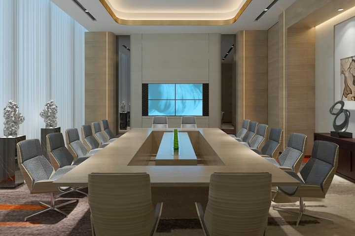 Meeting room at Wyndham Grand Plaza Royale Yuzhou Xiamen in Xiamen, Other than US/Canada