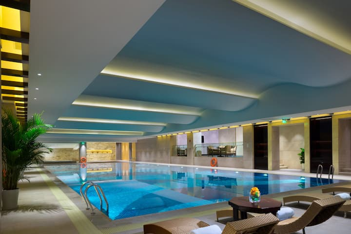 Pool at the Wyndham Grand Xian Residence in Xian, Other than US/Canada