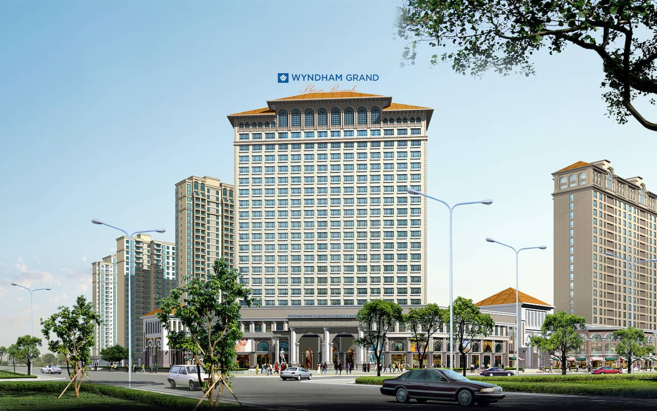Wyndham Grand Plaza Royale Mingfa Zhangzhou in Zhangzhou, China