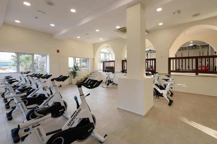 Health club at Wyndham Grand Crete Mirabello Bay in Agios Nikolaos, Other than US/Canada