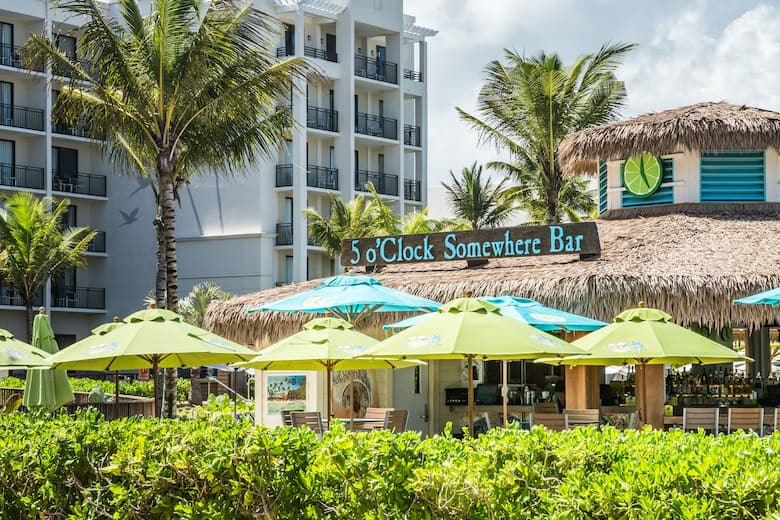 Bar At Wyndham Grand Rio Mar Puerto Rico Golf Beach Resort In Grande