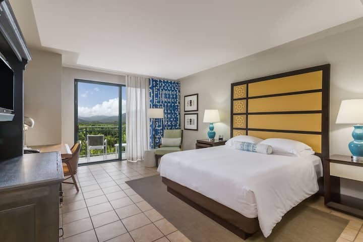 Guest room at the Wyndham Grand Rio Mar Puerto Rico Golf & Beach Resort in Rio Grande, Other than US/Canada