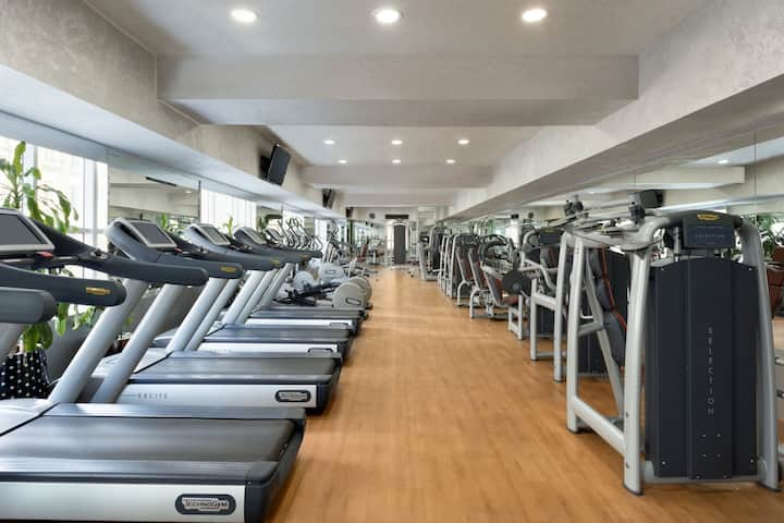 Health club at Wyndham Grand Regency Doha in Doha, Other than US/Canada