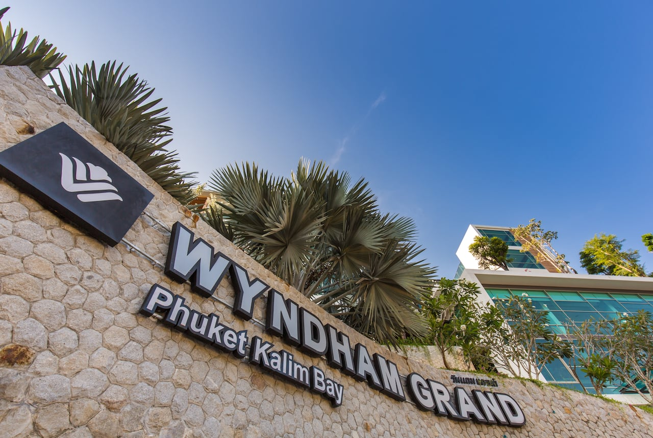 Wyndham Grand Phuket Kalim Bay in Phuket, THAILAND