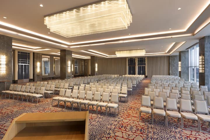 Wyndham Grand Istanbul Levent ballroom in Istanbul, Other than US/Canada