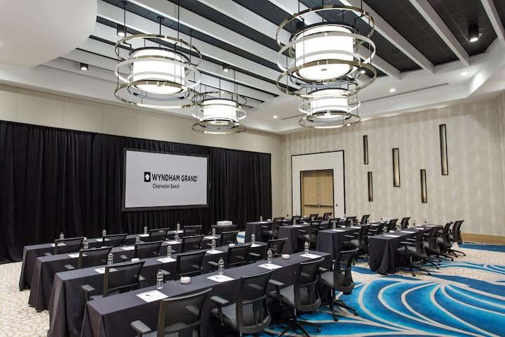 Meeting room at Wyndham Grand Clearwater Beach in Clearwater, Florida