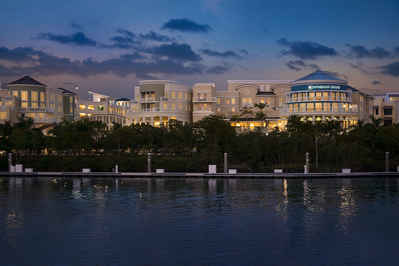 Wyndham Grand Jupiter at Harbourside Place in Palm Beach, Florida